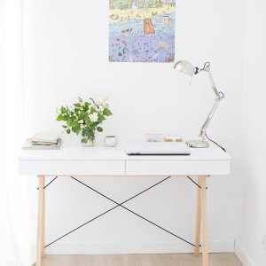 DESK BASIC_beech_white_buuba.pl7