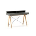 DESK BASIC+_beech_grey