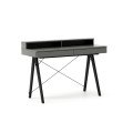 DESK BASIC+_black_grey