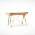 DESK BASIC_beech_luxury wood laquered