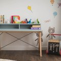 DESK KIDS SLIM+_beech_ice blue_buuba.pl2