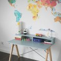 DESK KIDS SLIM+_beech_ice blue_buuba.pl4