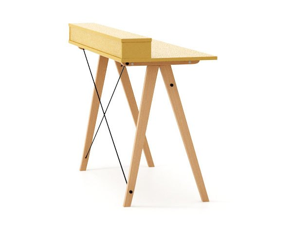 DESK SLIM+_beech_mustard_zoom