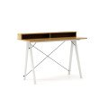 DESK SLIM+_white_raw oak