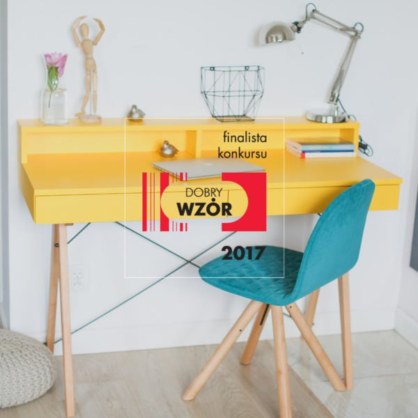 finalista DESK BASIC+ light mustard buuba.pl4