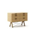 CONTAINER DOUBLE_oak_luxury wood