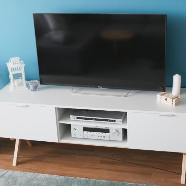 SIDEBOARD TVx3 BASIC light grey buuba.pl